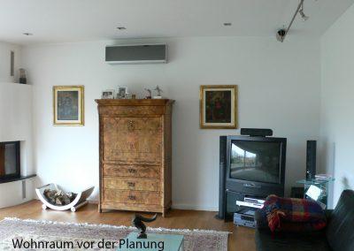 Wohnzimmer vor dem Umbau