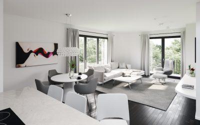 Villa Pirandello  – Innenarchitektur exklusive Privatwohnung