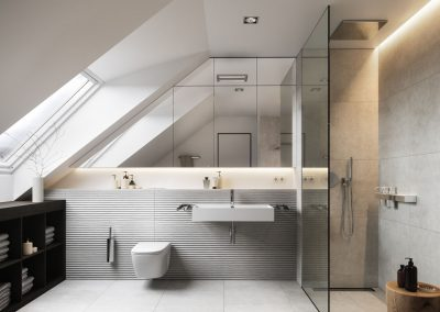 Badezimmer - Entwurf