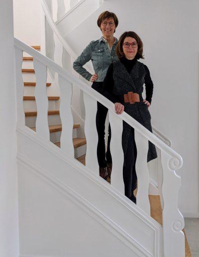 Frau Matheis und Frau Bussmann